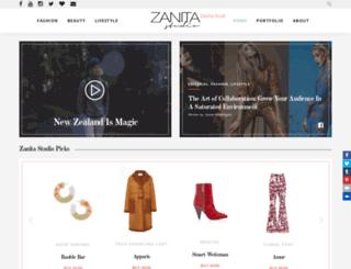 zanita.com.au screenshot