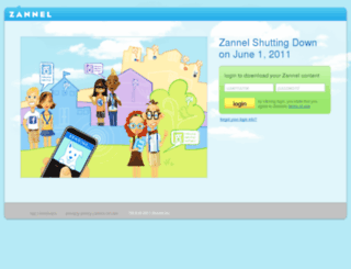 zannel.com screenshot