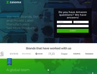 zanoma.com screenshot