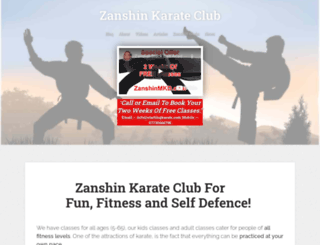 zanshinmkd.com screenshot