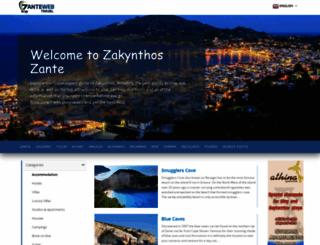 zanteweb.gr screenshot