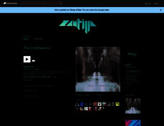zantilla.bandcamp.com screenshot
