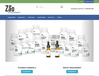 zao.anazaohealth.com screenshot