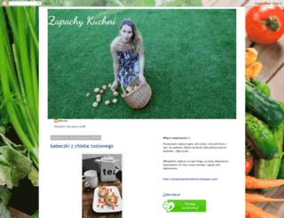 zapachykuchni.blogspot.com screenshot