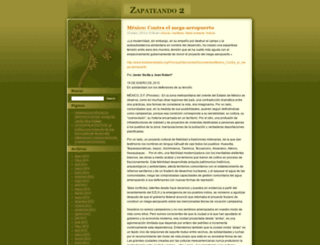 zapateando2.wordpress.com screenshot