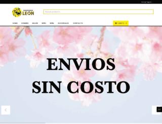 zapateriasleon.com screenshot