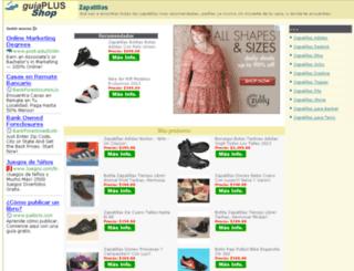 zapatillas.guiaplus.com.ar screenshot