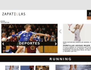 zapatillas.info screenshot