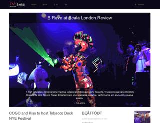 zapbangmagazine.com screenshot