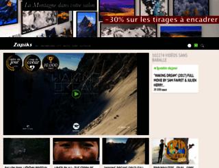 zapiks.fr screenshot