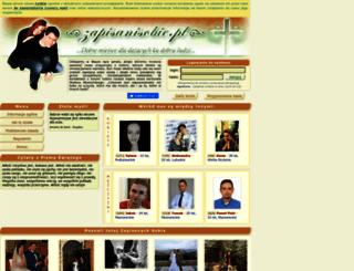 zapisanisobie.pl screenshot