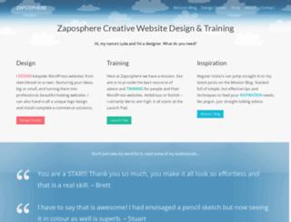 zaposphere.com screenshot