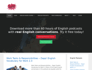 zappenglish.com screenshot