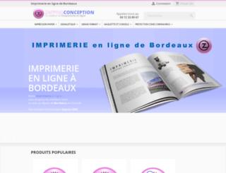 zappingconception.com screenshot