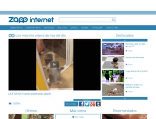 zappinternet.com screenshot