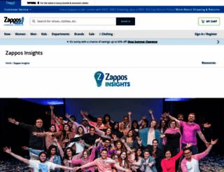 zapposinsights.com screenshot