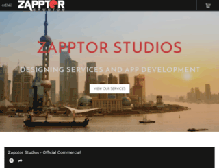zapptorstudios.com screenshot