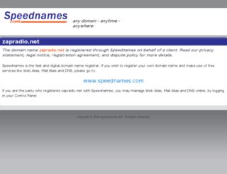 zapradio.net screenshot