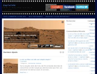 zaptatele.fr screenshot