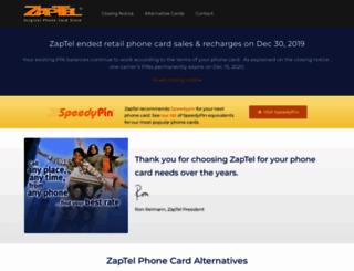 zaptel.com screenshot