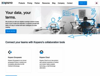 zarafa.com screenshot
