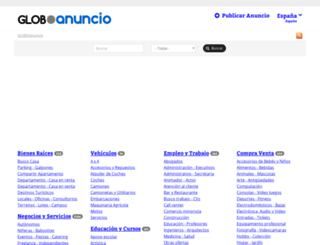 zaragozaciudad.anunico.es screenshot