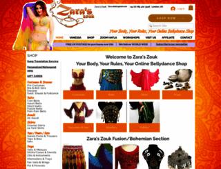 zaraszouk.co.uk screenshot