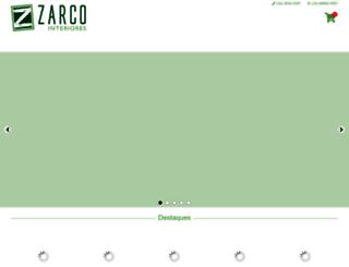 zarcointeriores.com.br screenshot