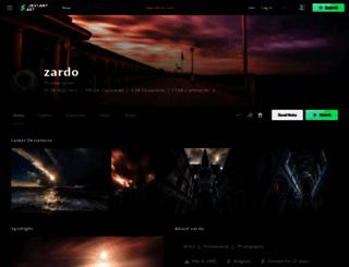 zardo.deviantart.com screenshot