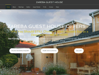 zareba.co.za screenshot