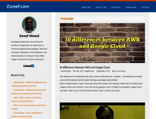 zareef.com screenshot