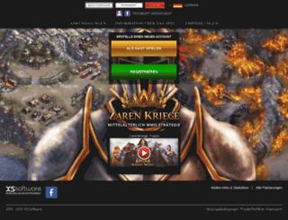 zarenkriege.de screenshot