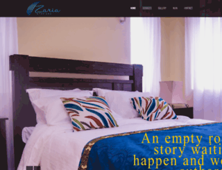 zariainteriors.com screenshot