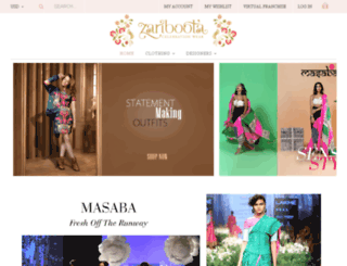 zariboota.com screenshot
