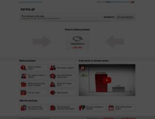 zarina.pl screenshot