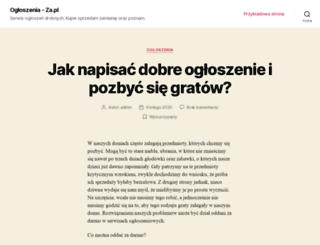 zarobicwsieci.za.pl screenshot