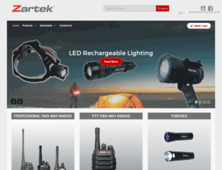 zartek.co.za screenshot