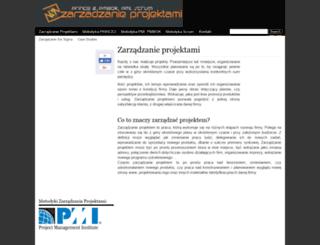 zarzadzanieprojekt.pl screenshot