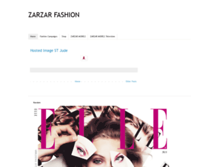 zarzarfashion.blogspot.com screenshot
