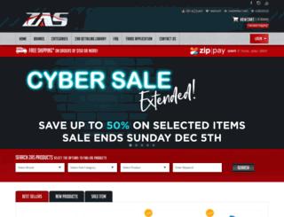 zas.com.au screenshot