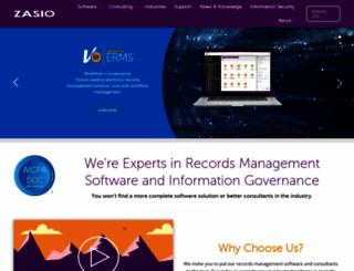 zasio.com screenshot