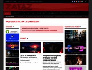 zataz.com screenshot