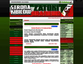 zatokabraniewo.futbolowo.pl screenshot