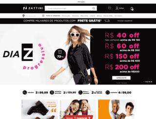 zattini.com.br screenshot