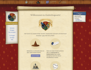 zauberhogwarts.de screenshot