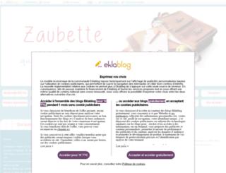 zaubette.fr screenshot