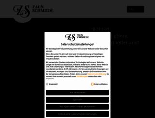 zaunschmiede.eu screenshot