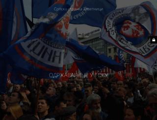 zavetnici.rs screenshot
