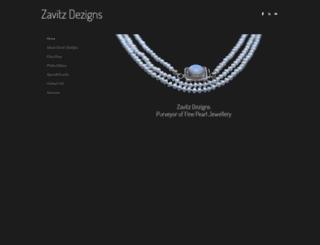 zavitzdezigns.weebly.com screenshot