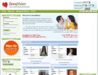 zawajmaker.com screenshot